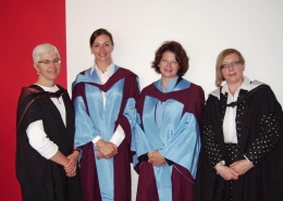 Dinah Eastop, Dr Anne-Marie Deisser, Dr Lee Clatworthy and Mary M. Brooks